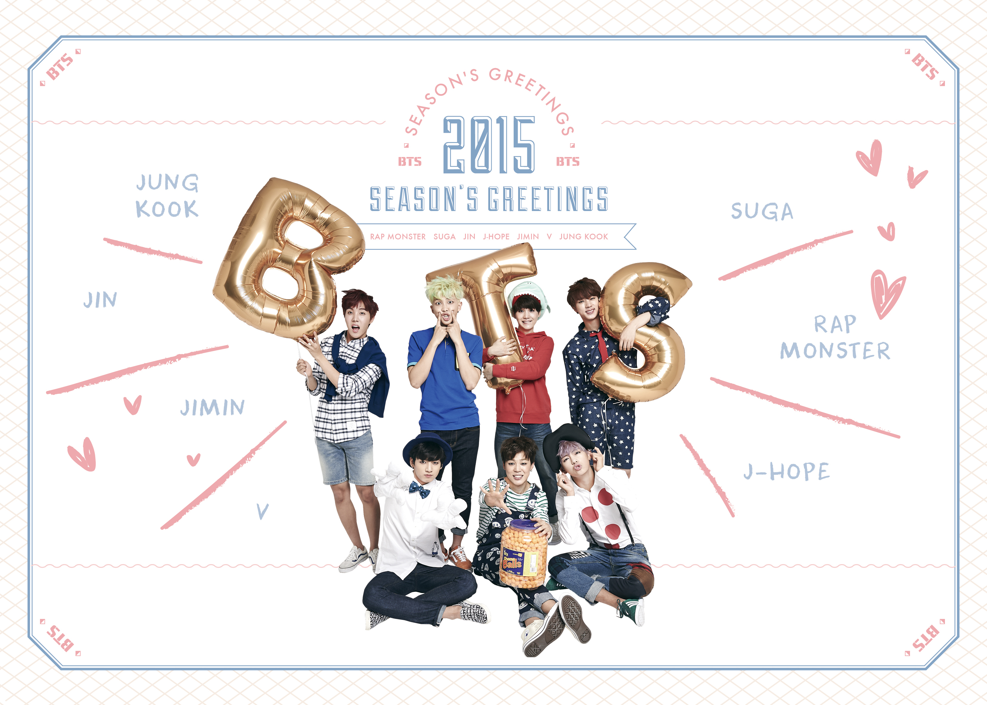 BTS_2015 SEASON'S GREETINGS_COVER